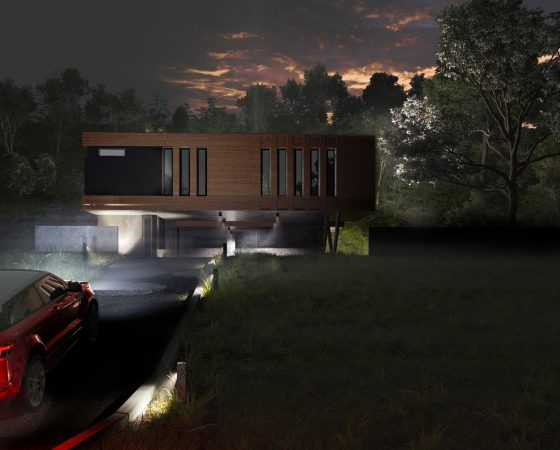 Own House w/ shipping containers